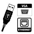 USB - Ethernet VGA Dönüştürücü