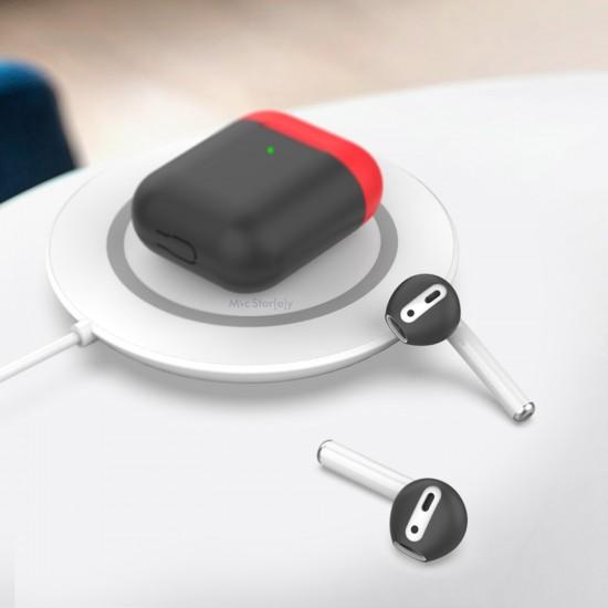AirPods Kulaklık Kılıfı Silikon İnce Meteryal Mat Dokunuş 3lü PT76
