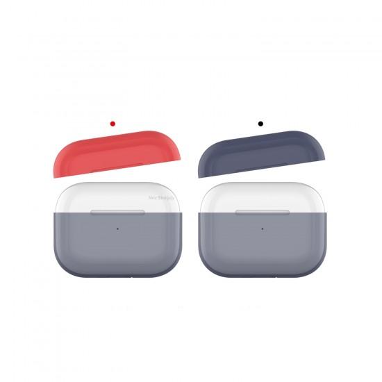 AirPods Pro Kılıf Koruyucu Case Silikon Mat Yedek Kapak Hediyeli PT-P2