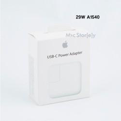 Apple iPhone 8 Plus X Hızlı  Şarj Aleti Cihazı USB-C 29W Güç Adaptörü MacBook  Retina A1534 Orjinal Kutulu Power Adaptör EMC2746 A1540