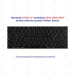 "Apple MacBook 12"" A1534 Klavye TR Türkçe  2015-2016"