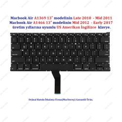 Apple MacBook Air A1369 / A1466 13 US İngilizce Klavye