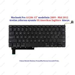 Apple MacBook Pro 15 A1286 Klavye Tuş Takımı US Klavye