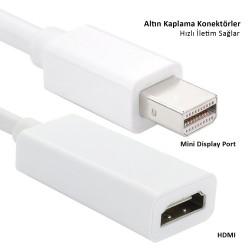 Apple MacBook Pro Air Retina için Mini Display Port dönüştürücü HDMI çıkışlı