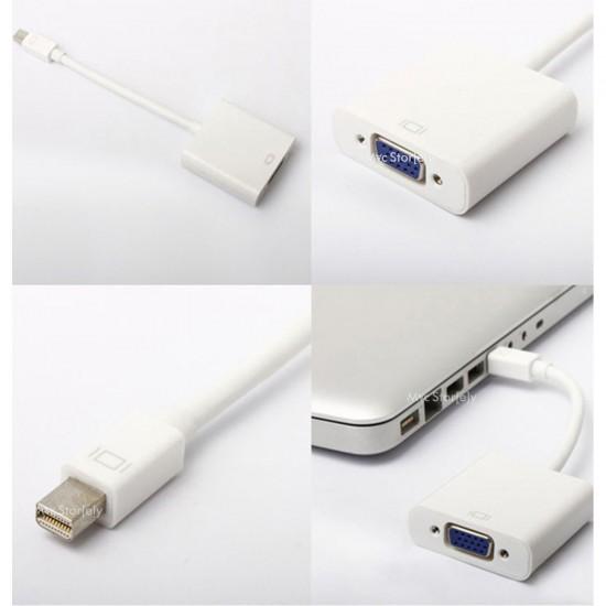 Apple MacBook Pro Air Retina için Mini Display Port dönüştürücü VGA çıkışlı MB572