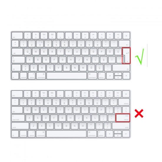 Apple Magic Keyboard 2 Klavye Koruyucu Türkçe Baskı Moldel A1644