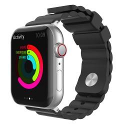 Apple Watch 6-5-4-3 Kordonu Kayışı 42-44MM Yumuşak Doku Alerjen İçermez Malzeme WA02