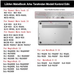 """Huawei MateBook Kılıf Koruyucu HardCase MateBook XPro 13.9"""" 2019-2020 Parmakizi Bırakmaz Kılıf"""
