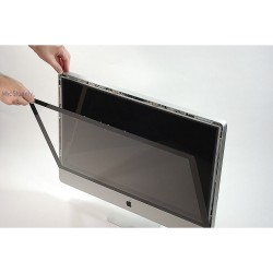 "iMac A1312 Ekran 27"" LCD Glass ön Panel Ön Cam Late 2009 EMC2309 Mid 2010 EMC2390 Mid 2011 EMC2429"