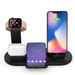 İphone Kablosuz Şarjaleti Samsung Huawei Qİ Kablosuz Şarj Aleti Apple Watch Airpods Kablosuz Şarj