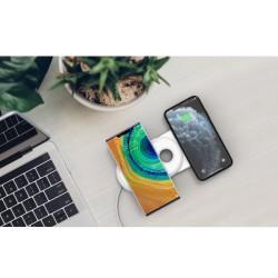 iPhone Samsung Huawei Kablosuz Şarj Aleti Standı Airpods AirBuds Şarj Standı