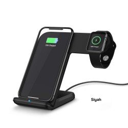 Kablosuz Şarj Aleti qi Kablosuz Şarj iPhone Kablosuz Hızlı Şarj Aleti