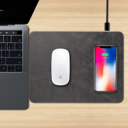 Kablosuz Şarj Aleti Stand Mousepad iPhone Samsung Huawei QI Kablosuz Şarj Aleti