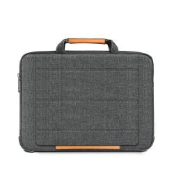Laptop El Çantası MacBook Standlı Çanta Kadın Erkek Evrak Çantası Omuz Askısız 15 inc Çanta