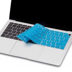 Laptop MacBook Air 13inc Klavye Koruyucu A1932 2018/2019 Uyumlu İngilizce-Türkçe Baskılı