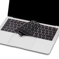 Laptop MacBook Air 13inc Klavye Koruyucu A2179 A2337 2020 2021 Uyumlu Avrupa İngilizce Baskılı
