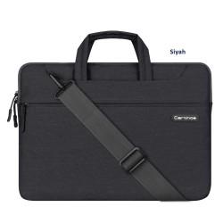 Laptop MacBook NoteBook Çantası Kadın Erkek Evrak Çantası Askılı 15inc Bilgisayar Çantası Cartinoe