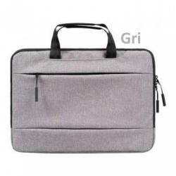Laptop MacBook NoteBook Çantası Kadın Erkek Evrak Çantası Omuz Askısız 15inc Bilgisayar Çanta Pofoko