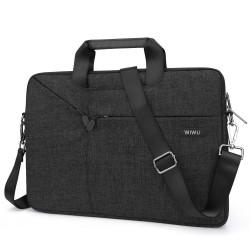 Laptop MacBook NoteBook Çantası Kadın Erkek Evrak Çantası Omuz ve Yan Askılı 13inc Çanta