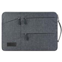 Laptop MacBook NoteBook El Çantası Kadın Erkek Evrak Çantası Omuz Askısız 13inc Kılıf