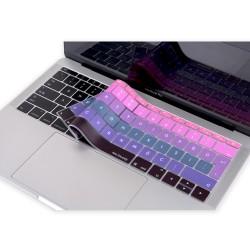 Laptop MacBook Pro Klavye Koruyucu 13inc A1708 12inc A1534 Uyumlu Türkçe Baskı Ombre