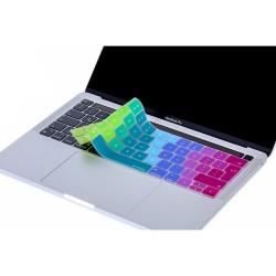 Laptop MacBook Pro TouchBar Klavye Koruyucu A1706 1989 2159 A1707 1990 Avrupa İngilizce Baskı Dazzle