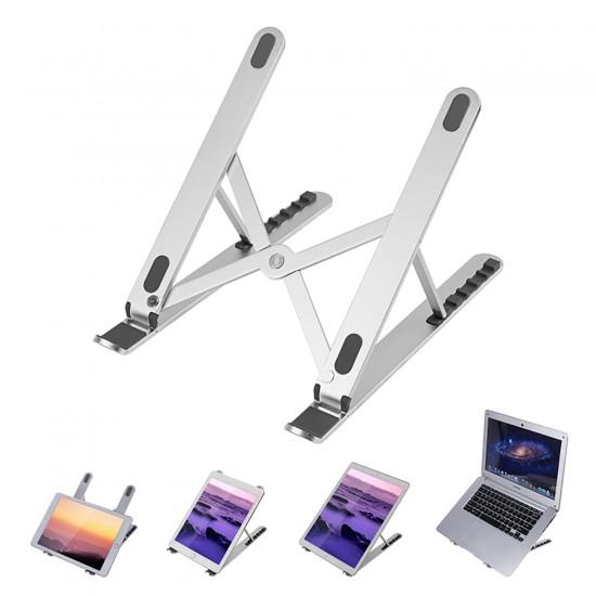 Laptop Stand MacBook Notebook Katlanabilir Metal Stand