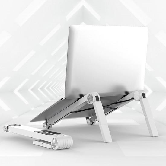 Laptop Stand NoteBook Katlanabilir ve Ayarlanabilir MacBook Stand