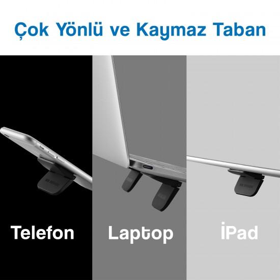 Laptop Tutucu NoteBook Stand Katlanabilir Taşınabilir Tablet Laptop Tutucu Stand