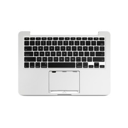"Macbook A1502 2013 2014 With Keyboard US 13"" Üst Kasa Topcase"