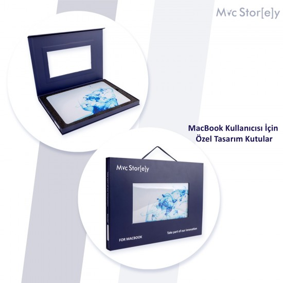 MacBook Air Kılıf 13inc HardCase Touch ID A1932 2018/2019 Uyumlu Kılıf Paint1N