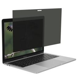 MacBook Air 13inc Hayalet Ekran Koruyucu Kırılmaz Cam A1369 A1466 Privacy Gizlilik Ekran Koruyucu