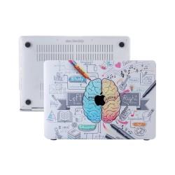MacBook Air Kılıf 13inc HardCase A1369 A1466 Uyumlu Koruyucu Kılıf Beyin Desenli