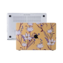 MacBook Air Kılıf 13inc HardCase A1369 A1466 Uyumlu Koruyucu Kılıf Flower04