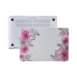 MacBook Air Kılıf 13inc HardCase A1369 A1466 Uyumlu Koruyucu Kılıf Flower06