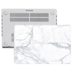 MacBook Air Kılıf 13inc HardCase A1369 A1466 Uyumlu Mermer Desenli Kılıf 06NL