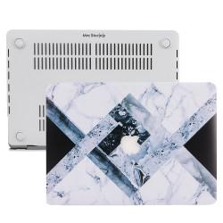 MacBook Air Kılıf 13inc HardCase A1369 A1466 Uyumlu Mermer Desenli Kılıf 09