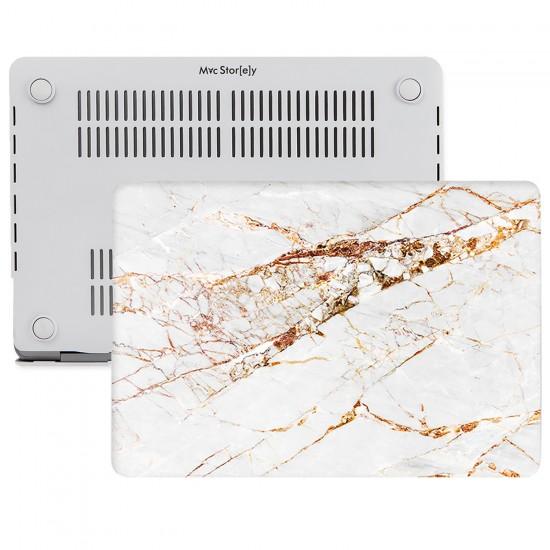 MacBook Air Kılıf 13inc HardCase A1369 A1466 Uyumlu Mermer Desenli Kılıf 10NL