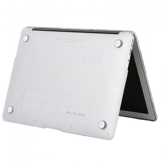 MacBook Air Kılıf 13inc HardCase Touch ID A1932 2018/2019 Uyumlu Kılıf Dog01N