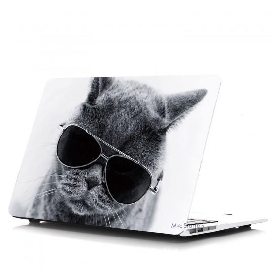MacBook Air Kılıf 13inc HardCase A1369 A1466 Uyumlu Koruyucu Kılıf Cat01