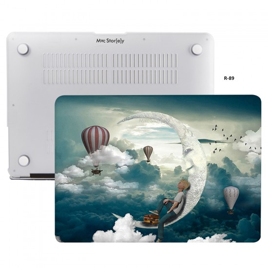 MacBook Air Kılıf 13inc HardCase A1369 A1466 Uyumlu Koruyucu Kılıf Focus01NL