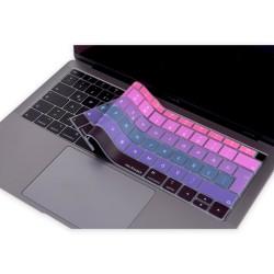Laptop MacBook Air 13inc Klavye Koruyucu A1932 2018/2019 Uyumlu Türkçe Baskılı Ombre