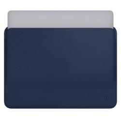 MacBook Air Pro Laptop Çantası Kadın Erkek Deri El Çantası 13inc Kese Kılıf A1466 A1502 Uyumlu