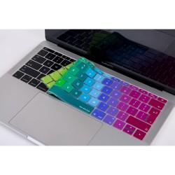 Laptop MacBook Pro Klavye Koruyucu 13inc A1708 12inc A1534 Uyumlu Avrupa İngilizce Baskı Dazzle