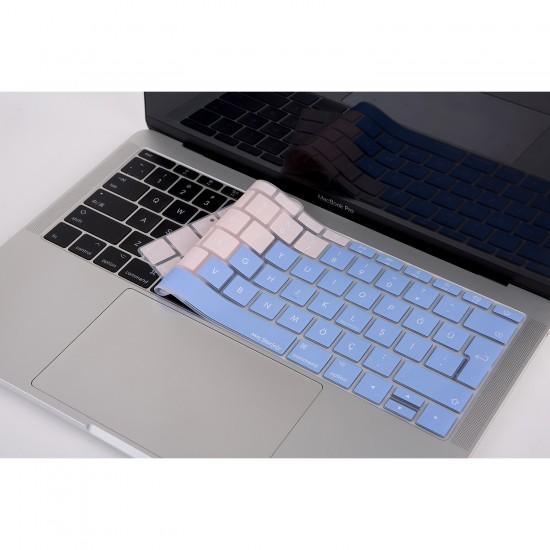"""Yeni MacBook Pro A1708 13"""" MacBook A1534 12"""" Klavye Koruyucu Silikon Kılıf Türkçe Baskı TR TPU"""