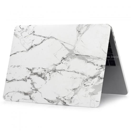 MacBook Pro Kılıf 13inc HardCase A1278 2008/2012 Uyumlu Koruyucu Kılıf Marble