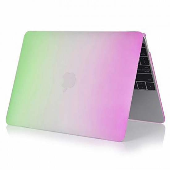 MacBook Pro Kılıf 13inc HardCase A1278 2008/2012 Uyumlu Koruyucu Kılıf Rainbow