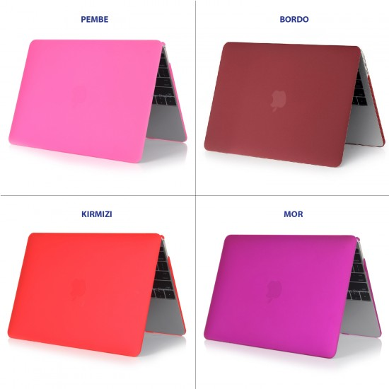 MacBook Pro Kılıf 13inc HardCase A1425 A1502 2012/2015 Uyumlu Koruyucu Kılıf