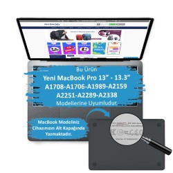 MacBook Pro Kılıf 13inc HardCase A1706 A1708 A1989 A2159 2016/2019 Uyumlu Koruyucu Kılıf Flower02