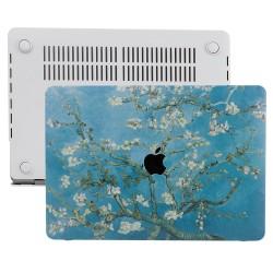 MacBook Pro Kılıf 13inc HardCase A1706 A1708 A1989 A2159 2016/2019 Uyumlu Koruyucu Kılıf Flower03
